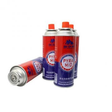 Refined portable Butane gas cartridge cans with camping fuel gas cans