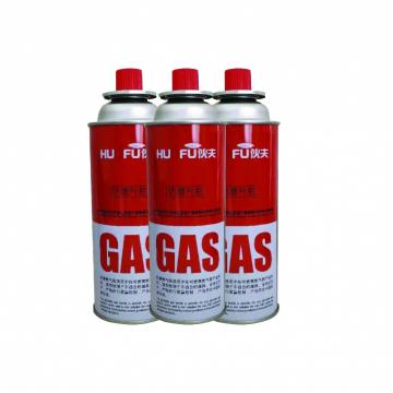 Low pressure popular international standard empty butane gas canister for camp stove