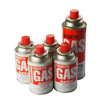 Camping Mini Portable OEM Logo Butane Gas Can with Valve and Cap