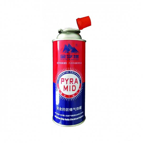 High pressure resistance empty butane gas cartridge for camping 190g 220g 250g